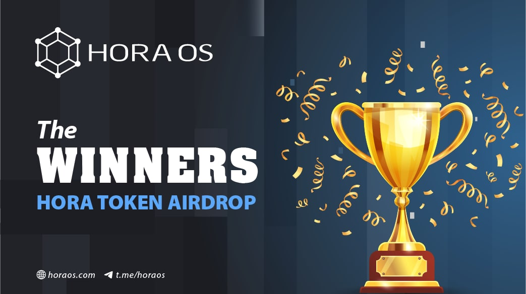 HORA OS AIRDROP PRE-LAUNCH HAS COME TO AN END!